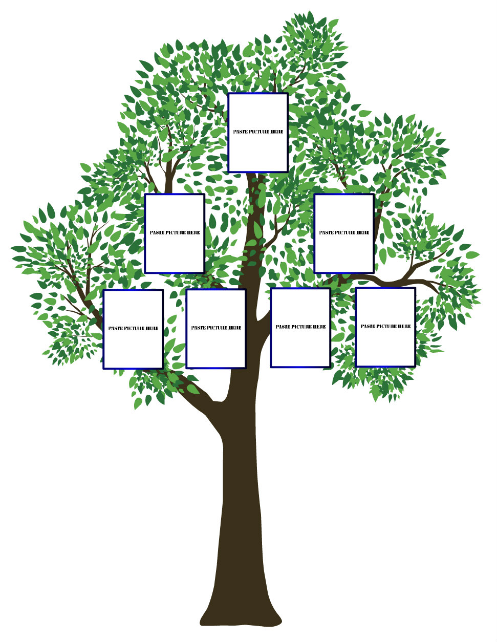 Computer kiddos wiki who am i my family roots for Plain family tree template
